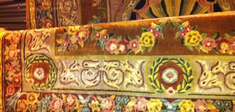 Rensning af ægte tæpper