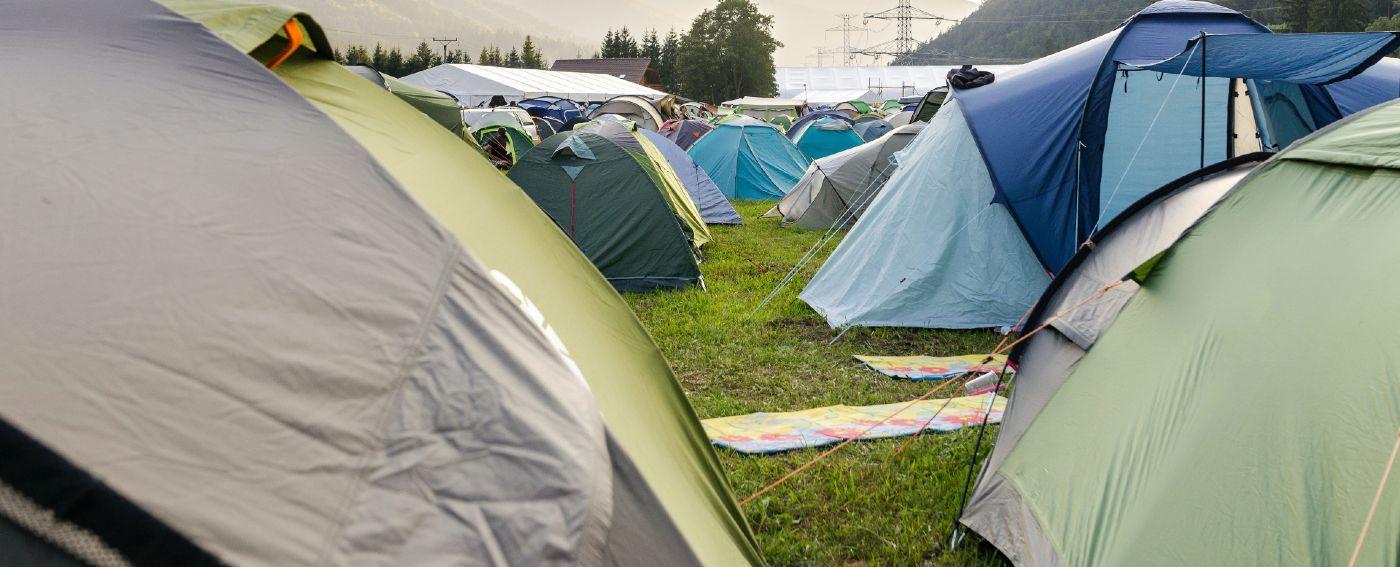 Vask af telte